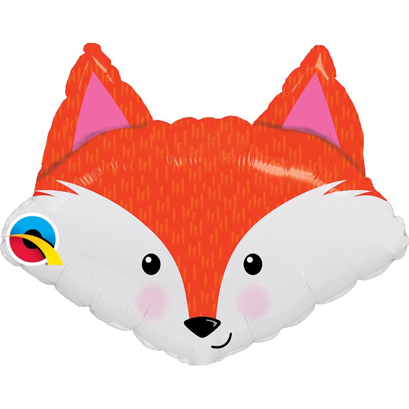 14'' Fabulous Fox Mini Shape Foil Balloon
