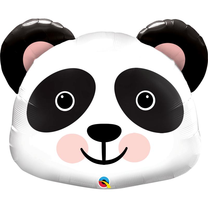 31'' Precious Panda Shape Foil Balloon