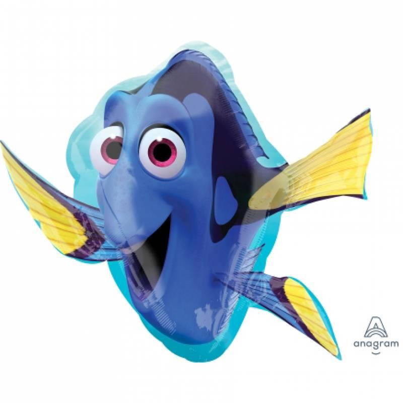 30'' x 30'' Disney Pixar Finding Dory Shape Foil Balloon