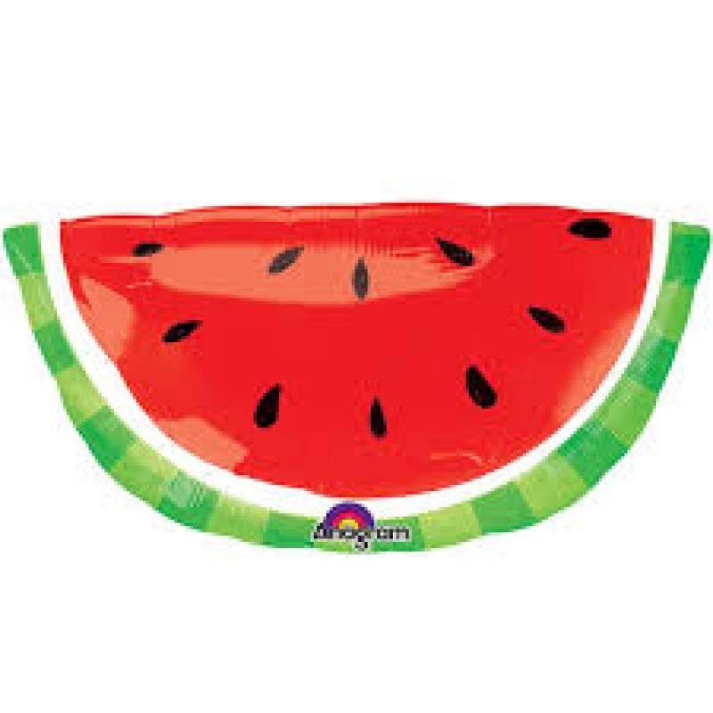 32'' x 16'' Watermelon Slice Shape Foil Balloon