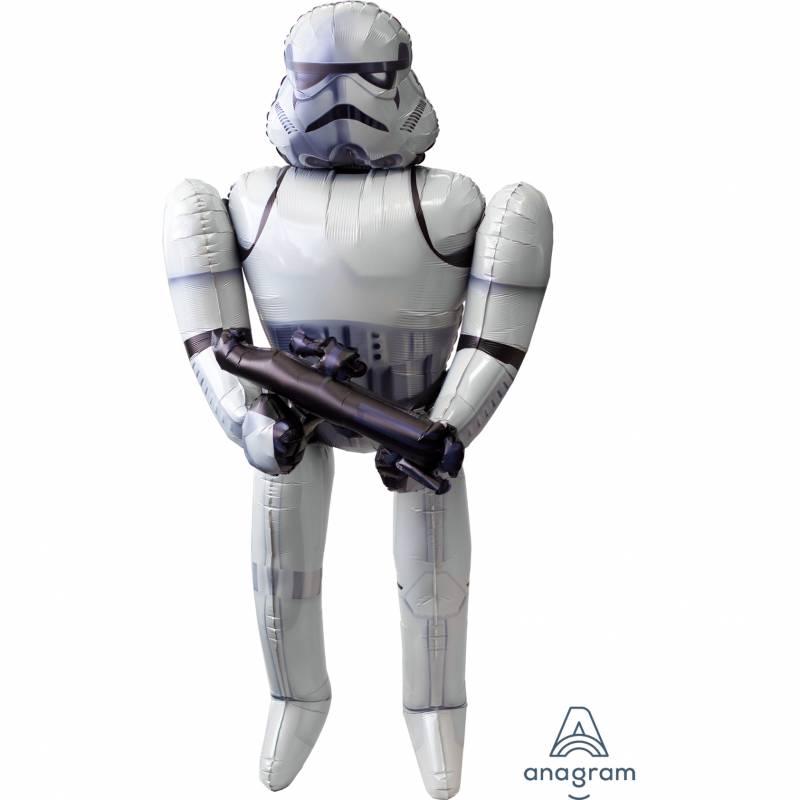 33'' x 70'' Disney Star Wars Stormtrooper Airwalker Foil Balloon