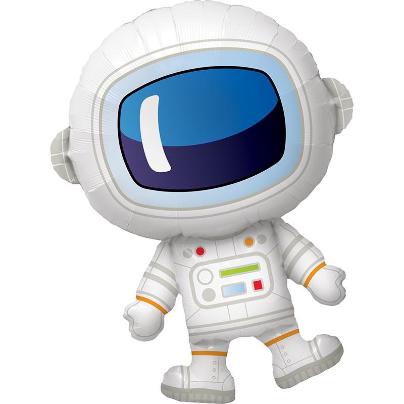 37'' Adorable Astronaut Shape Foil Balloon