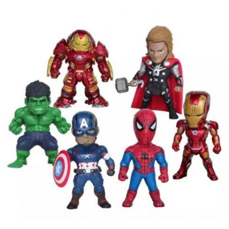 Marvel Avengers Toy Cake Topper Set