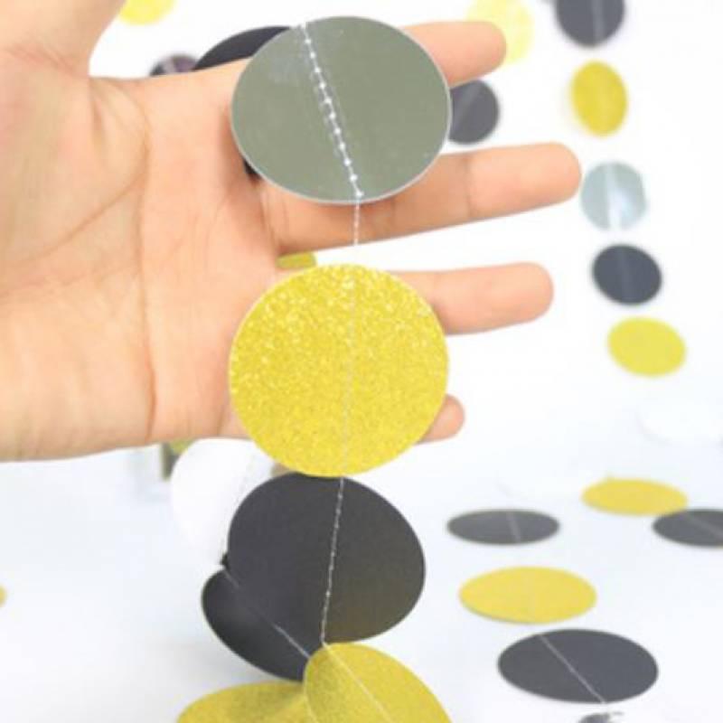 Classy Round Paper Garland