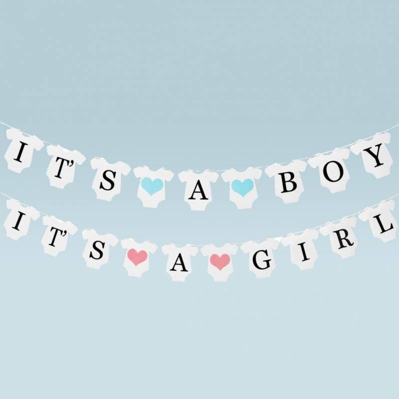 It's A Boy/Girl Gender Reveal Bunting