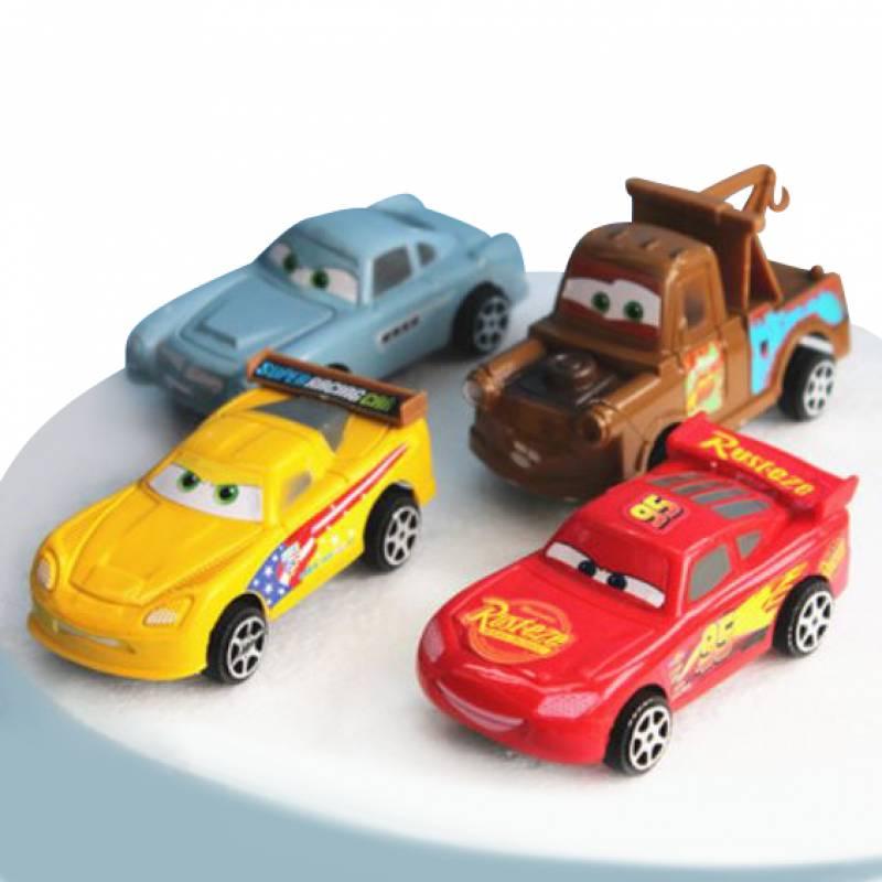 Disney Pixar Cars Toy Cake Topper Set