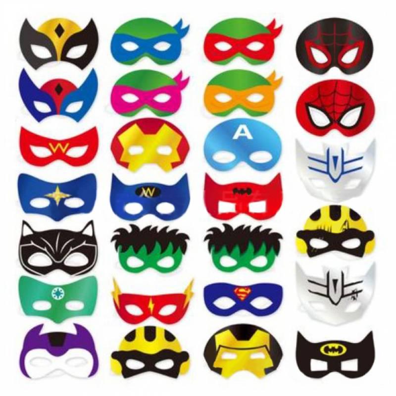 Be a Superhero Mask Set