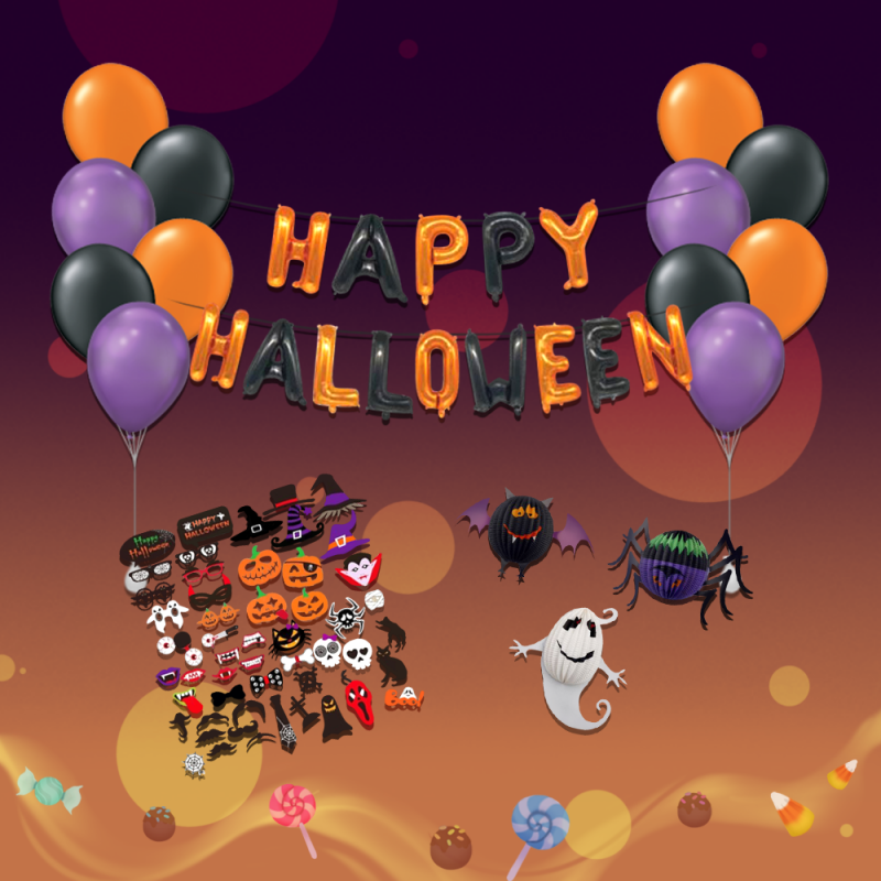Happy Halloween Themed Package