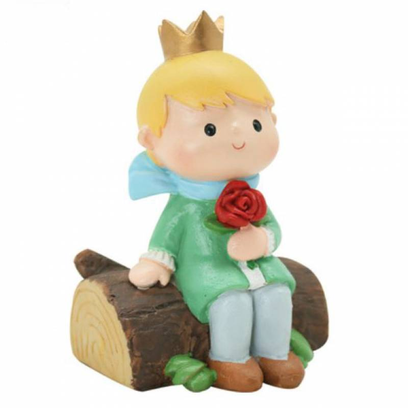 The Little Prince and the Rose Toy Cake Topper