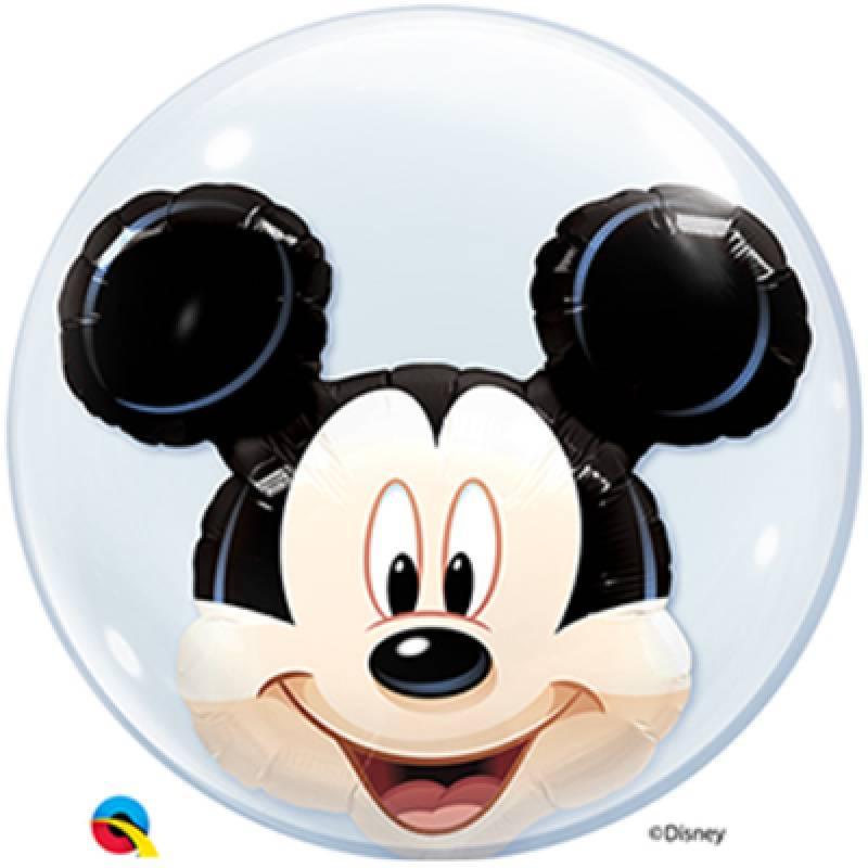 24'' Disney Mickey Mouse Double Bubble Balloon
