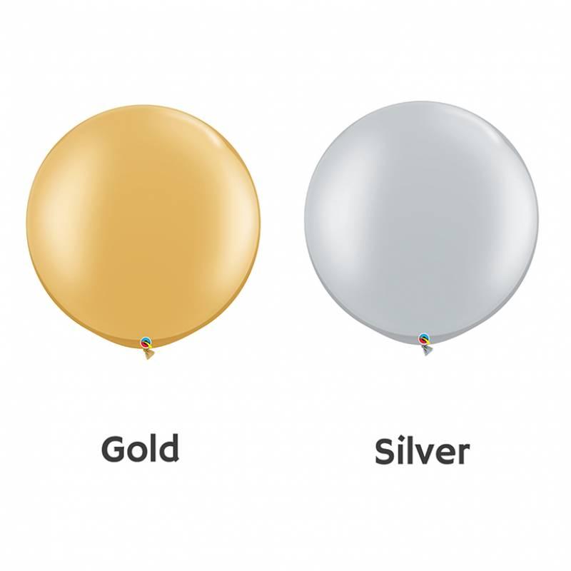 30'' Fashion Colour Round Latex Balloon