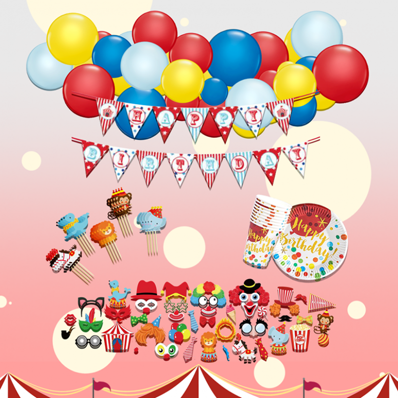 Circus Carnival Themed DIY Package