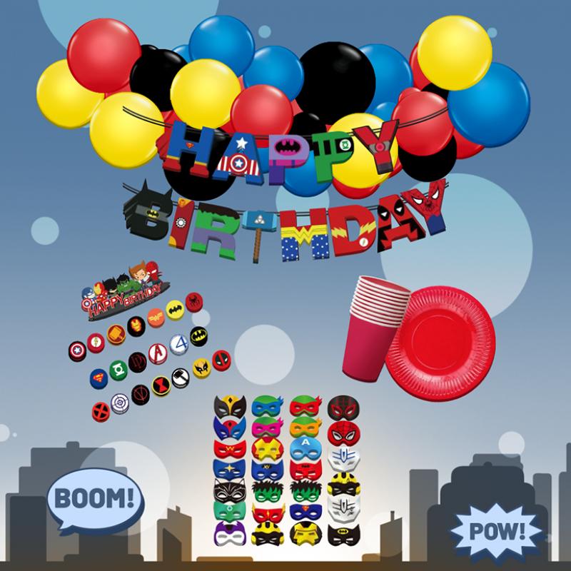 Superhero Themed DIY Package